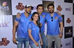 Shiv Pandit, Anita Hassanandani, Rannvijay Singh at Box Cricket League press meet on 2nd Feb 2016 (35)_56b1b172d68dd.JPG