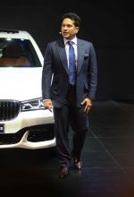 Sachin Tendulkar unveils the new BMW 7 Series at Auto Expo 2016 on 3rd Feb 2016