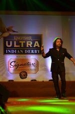 Kailash Kher at Kingfisher Ultra Derby Draw on 4th Feb 2016