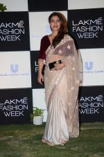 Kajol at Lakme fashion week press meet on 4th Feb 2016