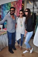 Sunil Shetty, Mana Shetty, Athiya Shetty at Araish on 4th Feb 2016