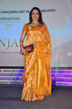 Hema Malini at national jewellery awards on 6th Feb 2016
