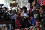 Katrina Kaif, Aditya Roy Kapoor goes shopping in Janpath for promoting Fitoor on 6th Feb 2016