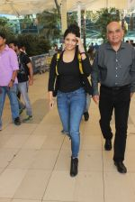 Ritika Singh snapped at Airport on 6th Feb 2016