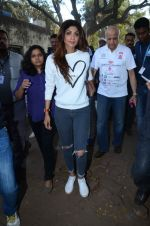 Shilpa Shetty at Wadia hospital little hearts marathon on 7th Feb 2016 (23)_56b73402737b1.JPG