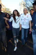 Shilpa Shetty at Wadia hospital little hearts marathon on 7th Feb 2016 (29)_56b73406c9341.JPG