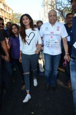 Shilpa Shetty at Wadia hospital little hearts marathon on 7th Feb 2016 (31)_56b734086d804.JPG