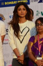 Shilpa Shetty at Wadia hospital little hearts marathon on 7th Feb 2016 (38)_56b7344c7ec1b.JPG