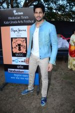 Sidharth Malhotra inaugurates Kala Ghoda festival on 6th Feb 2016 (14)_56b734456e4af.JPG