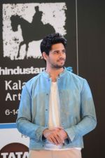 Sidharth Malhotra inaugurates Kala Ghoda festival on 6th Feb 2016 (27)_56b73451a79b1.JPG