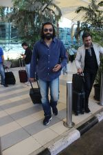 Bobby Deol snapped at airport on 7th Feb 2016