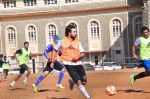 Ranbir Kapoor snapped playing Football on 7th Feb 2016