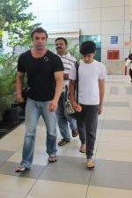 Sohail Khan snapped at airport on 7th Feb 2016