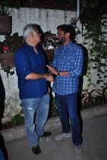 Hansal Mehta, Nishikant Kamat at Aligargh screening in Mumbai on 9th Feb 2016