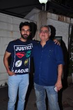 Raj Kumar Yadav, Hansal Mehta at Aligargh screening in Mumbai on 9th Feb 2016