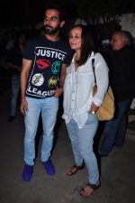 Raj Kumar Yadav, Soni Razdan at Aligargh screening in Mumbai on 9th Feb 2016