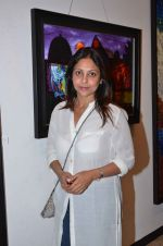 Shefali Shah snapped at an art event on 9th Feb 2016