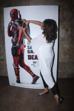 Sonakshi Sinha at Deadpool screening on 9th Feb 2016