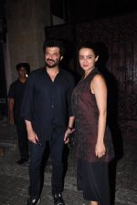 Surveen Chawla, Anil Kapoor at Anil Kapoor_s party for the cast of 24 at his bunglow on 9th Feb 2016 (34)_56bafbdeb318b.JPG