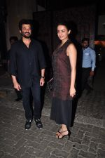 Surveen Chawla, Anil Kapoor at Anil Kapoor_s party for the cast of 24 at his bunglow on 9th Feb 2016 (35)_56bafbc77d1b0.JPG