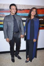 Vivek Oberoi, Priyanka Alva snapped at an art event on 9th Feb 2016 (30)_56bafc3fad311.JPG