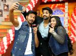 rajniesh duggall,karan vahi & swati sharrma to Comedy classes to promote their film Direct Ishq_56bae730d9171.jpg