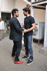 Arjun Kapoor, Aditya Roy Kapoor snapped at Mehboob on 10th Feb 2016