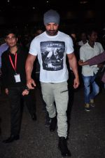 John Abraham at international airport on 10th Feb 2016