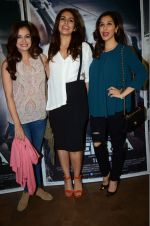 Dia Mirza, Huma Qureshi, Sophie Chaudhary at Neerja screening in Lightbox on 11th Feb 2016