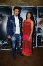 Mugdha Godse, Rahul Dev at Neerja screening in Lightbox on 11th Feb 2016 (84)_56bdcb6dc6522.JPG