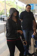 Huma Qureshi snapped at airport on 12th Feb 2016