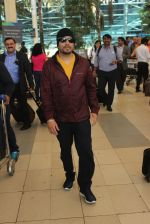 Mika Singh snapped at airport on 12th Feb 2016