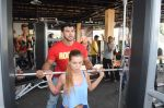 Sahil Khan launches his MUSCLE BEACH Gym in Baga Beach Goa on 12th Feb 2016