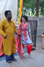 Ragini Khanna at Anurag Basu_s Saraswati Pooja on 13th Feb 2016 (21)_56c05f4c3efab.JPG