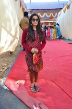 Shweta Pandit at Anurag Basu_s Saraswati Pooja on 13th Feb 2016 (25)_56c05f7b00571.JPG