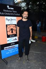 Vir Das performs for Pepe Jeans music festin Kalaghoda on 13th Feb 2016