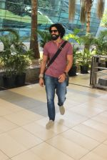 Farhan Akhtar snapped at airport on 14th Feb 2016