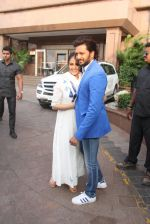 Genelia D Souza, Riteish Deshmukh at Arpita Khan_s Baby shower in Mumbai on 14th Feb 2016 (69)_56c1932863250.JPG