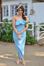 Huma Qureshi at Mid-Day race in Mumbai on 14th Feb 2016