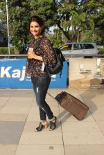 Prachi Desai snapped at airport on 14th Feb 2016