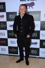 Rohit Bal at FDCI Make in India show in Mumbai on 14th Feb 2016