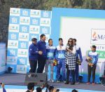 Sonam Kapoor flags off the last leg of the 4th edition of Max Bupa Walk for Health event in Delhi on 15th Feb 2016