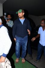 Aamir Khan at Neerja Screening in Mumbai on 15th Feb 2016