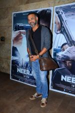 Abhinay Deo at Neerja Screening in Mumbai on 15th Feb 2016