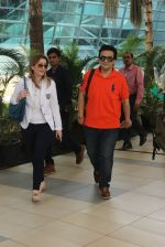 Adnan Sami snapped at airport on 15th Feb 2015