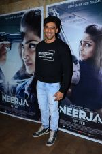 Amit Sadh at Neerja Screening in Mumbai on 15th Feb 2016