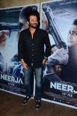 Anil Kapoor at Neerja Screening in Mumbai on 15th Feb 2016