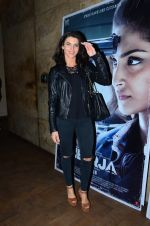 Gizele Thakral at Neerja Screening in Mumbai on 15th Feb 2016