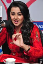 Nikki Galrani at radio city on 15th Feb 2016