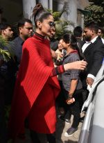 Sonam Kapoor promotes Neerja in Delhi on 15th Feb 2016